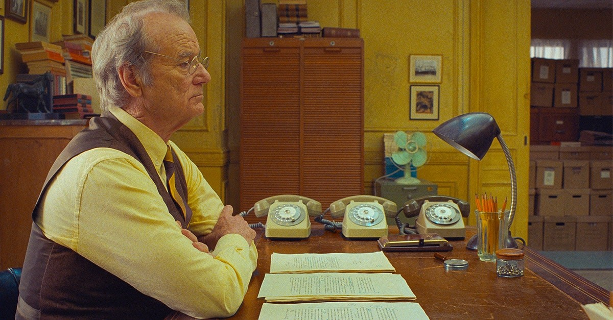 Tilda Swinton, Adrian Brody and Bill Murray tell the story of a picture in Wes Anderson Screenplay