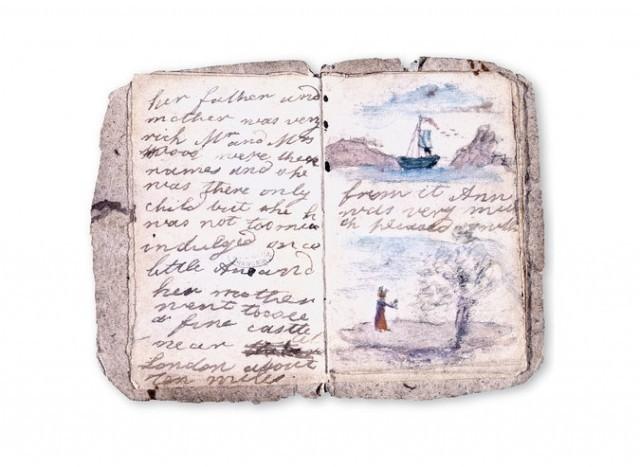 She wasn't a bird: Charlotte Brontë's handwritten manuscript for Jane Eyre