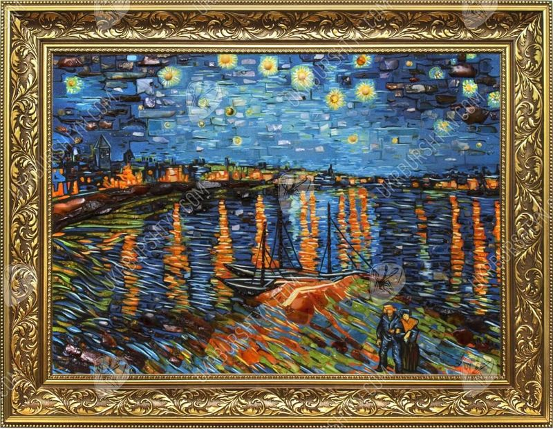 The Beauty of Night and Stars - Van Gogh's Beautiful Landscape